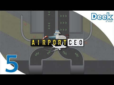 Let's Play Airport CEO - 5 - Building our Baggage Handling Services: Baggage Belts, Bay & Scanners