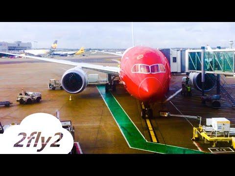 NORWEGIAN BOEING 787-8 DREAMLINER BOSTON-LONDON ECONOMY CLASS HD