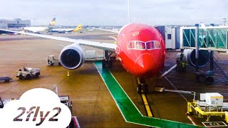 NORWEGIAN BOEING 787-8 DREAMLINER BOSTON-LONDON ECONOMY CLASS HD