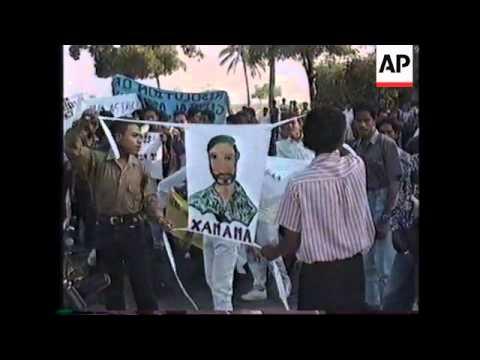 INDONESIA: DILI: EAST TIMOR DEMONSTRATIONS