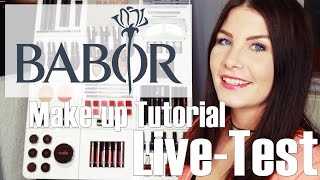 BABOR BEAUTY  - ONE BRAND TUTORIAL -  LIVE TEST - FAVORITENROLLEN