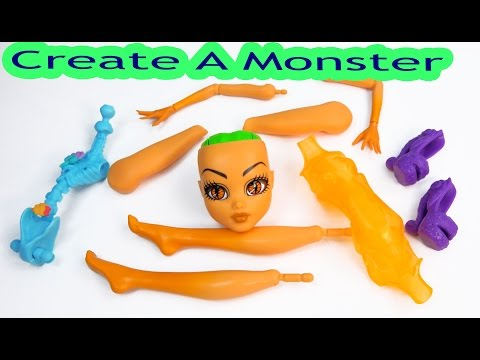 Create A Inner Monster High Doll Add On Starter Pack CAM Playset Set Scared Silly Shockingly Shy
