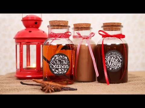 3 Homemade Holiday Liqueurs   Made with Love