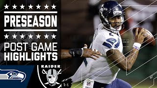 Seahawks vs. Raiders | Game Highlights | NFL