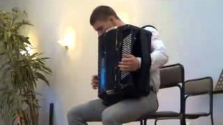 Концерт отделения баяна и аккордеона музучилищу Белграда Земан(В Сербии баян и аккордеон - это не герой программы