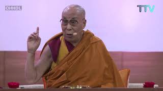 Excerpts from His Holiness the Dalai Lama's talk on Reviving Indian Wisdom in Contemporary India