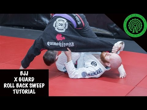 BJJ X-Guard Roll Back Sweep Tutorial