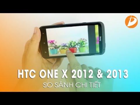 Sự khác biệt giữa HTC One X 2013 và 2012