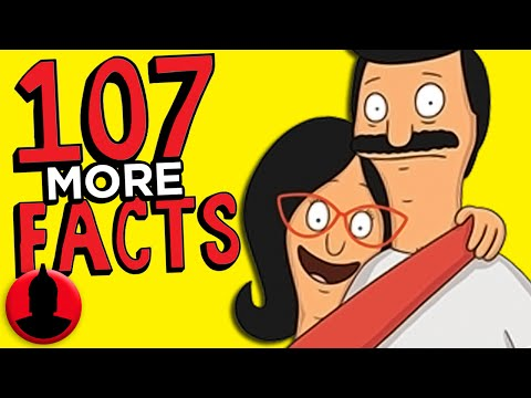 107 MORE Bob's Burgers Facts YOU Should Know (ToonedUp #187) | ChannelFrederator