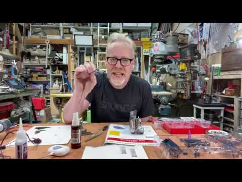 Adam Savage's Live Builds: Ghostbusters Ecto-1 Kit (Part 2)