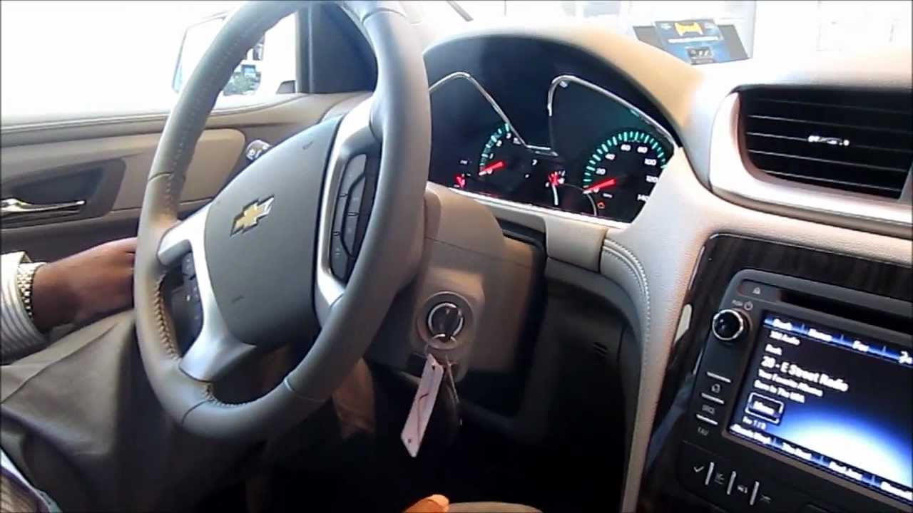 2013 Chevrolet Traverse Walkaround - YouTube