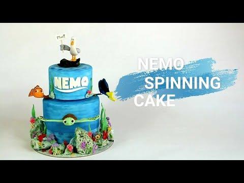 Finding Nemo Spinning Cake - SWEETNESS MAKER