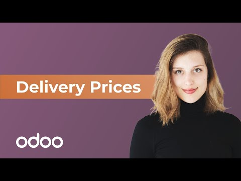 Delivery Prices | Odoo Sales