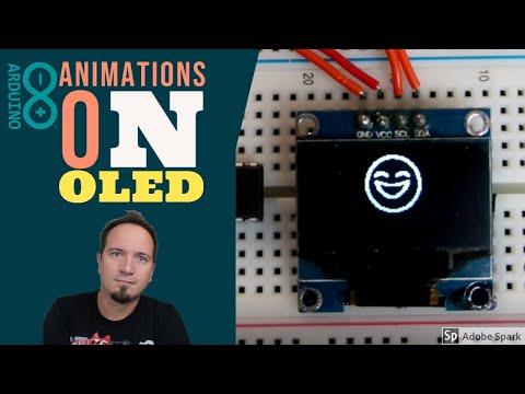Animations On OLED Display - Arduino