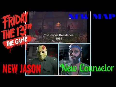 New Map, Jason 4 and New Counselor Friday The 13th The Game LIVE