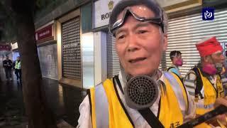 كبار السن يشاركون في تظاهرات هونغ كونغ - (8-9-2019)