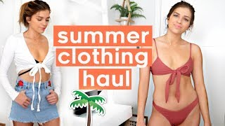 HUGE SUMMER CLOTHING HAUL 2018 | Urban Outfitters, Aritzia, Brandy Melville