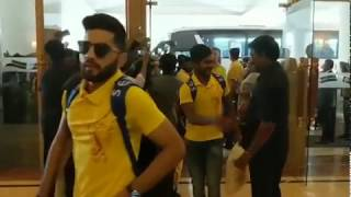 CSK The pride on  namma chennai | welcome them with all | We are the Super Champions!