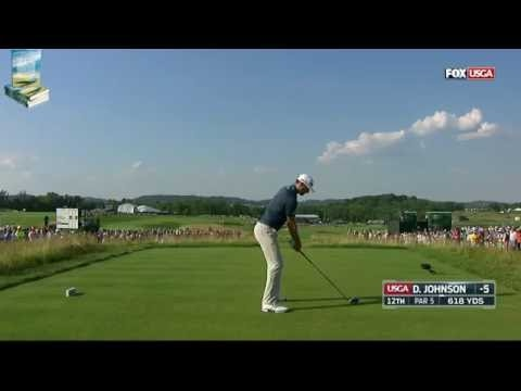 Champion Dustin Johnson's Majestic Golf Shots 2016 US Open Championship at Oakmont
