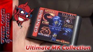 Sega Mega Drive / Genesis - Ultimate Mortal Kombat Game Cart Collection Review