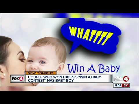 Delana's Dish - What the Florida!  Florida Couple Wins Baby in IVF Contest