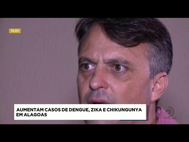 Casos de dengue aumentam 200% em Alagoas
