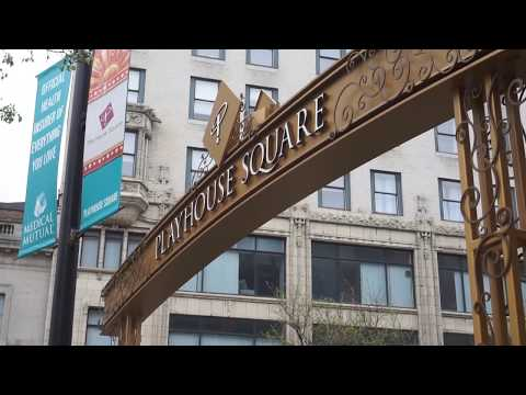Playhouse Square -- The Theater District Of Cleveland Ohio