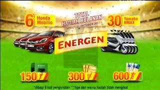 Iklan Energen Sarapan Super Hadiah 15s 2018