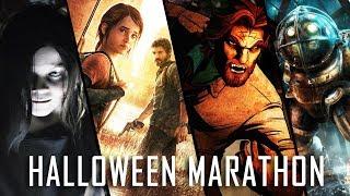 Halloween Game Movie Marathon! [Wolf Among Us, Alan Wake, Evil Within, Bioshock]