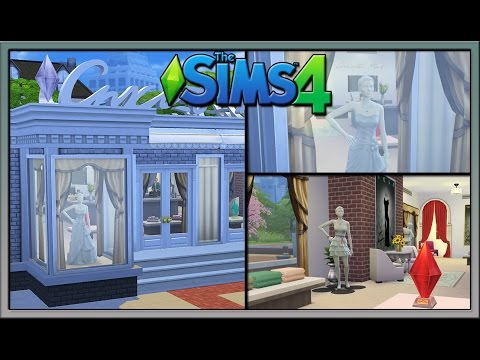 Sims 4 Lot Showcase: Wedding Store by Scott20996