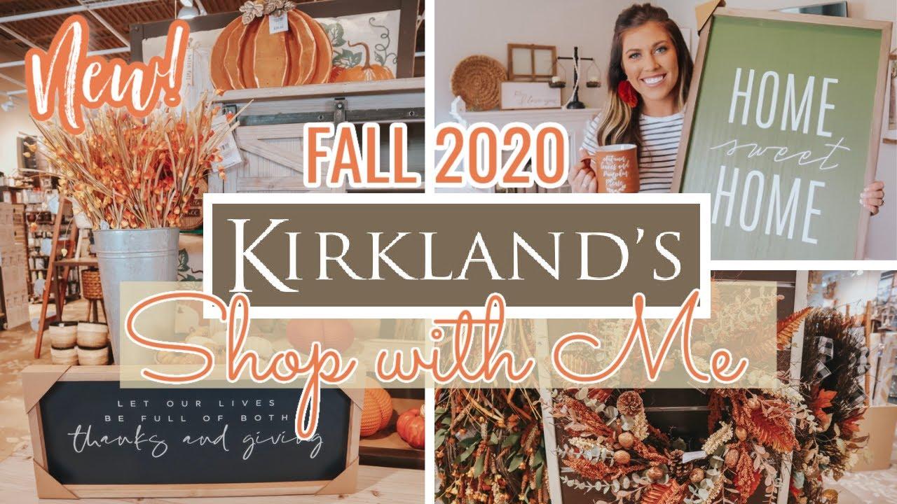 KIRKLANDS FALL SHOP WITH ME | FALL DECOR HAUL 2020 | WHAT'S NEW AT KIRKLANDS