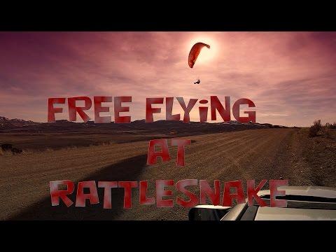 Free Flying my Reflex paramotor wings at Rattlesnake Ridge