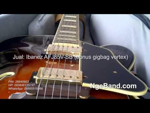 Ibanez AFJ85V-SB Demo (Pernah Muda - BCL) - NgeBand[dot]Com