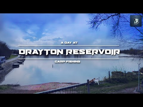 A Day At DRAYTON RESERVOIR| CARP FISHING