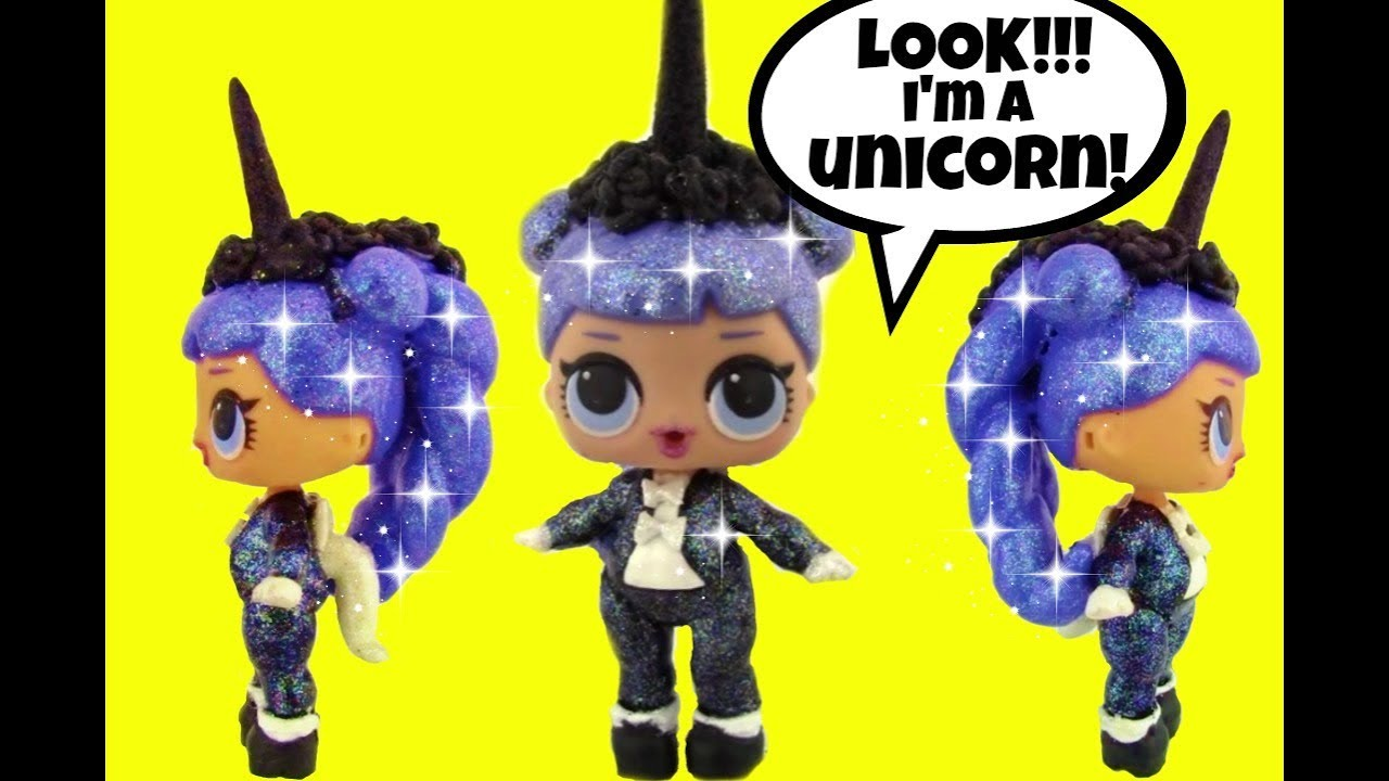Midnight Unicorn Custom Lol Surprise Doll Amp L O L