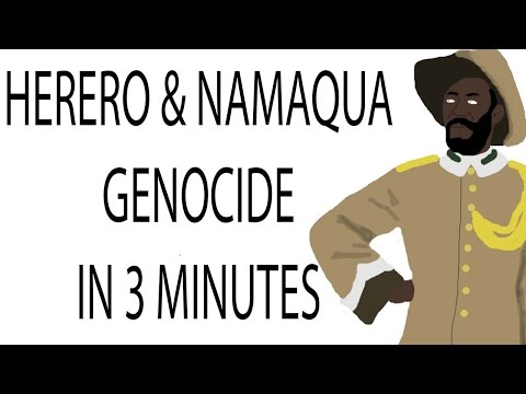 Herero and Namaqua Genocide | 3 Minute History
