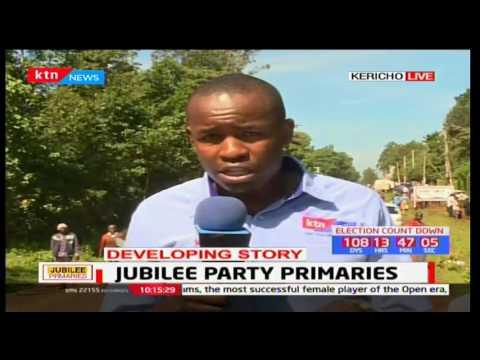 News Centre: Jubilee party primaries -  21st April,2017