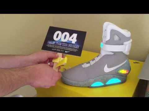 ShoeZeum 2015 Nike Mag Marty McFly Back To The Future Collection