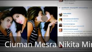 Hot Heboh 9 Mei 2015 Nikita Mirzani Ciuman Mesra di Instagram