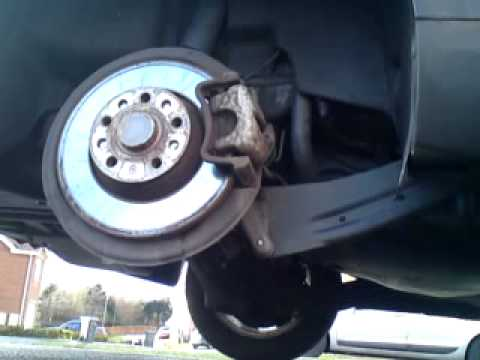 Vw Passat B6 Parking Brake Fault Youtube