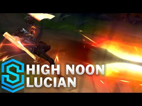 High Noon Lucian Skin Spotlight  PreRelease  League of Legends