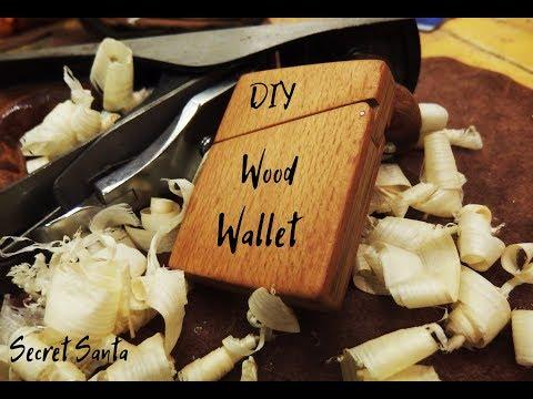DIY Wood Wallet - Secret Santa 2018