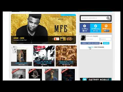 How do I upload to datpiff