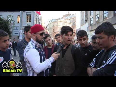 HDP'li Gençler Ile Siyasi Münazara