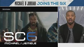 Michael B. Jordan on being a part of history in 'Black Panther': It's truly incredible | SC6 | ESPN