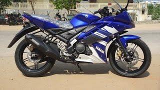 Yamaha r15 v2.0 Modified into Yamaha r15s 2017 - 18 With Custom Change Blue Colour