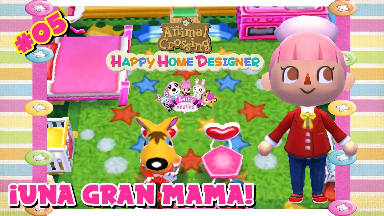 Animal Crossing Happy Home Designer #05 ¡Una Gran Mama! En Español   YouTube