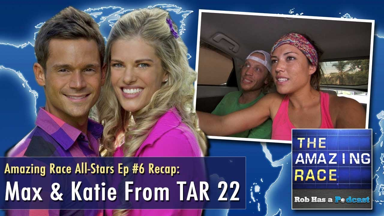 Max & Katie Discuss Familiar Faces on The Amazing Race All-Stars