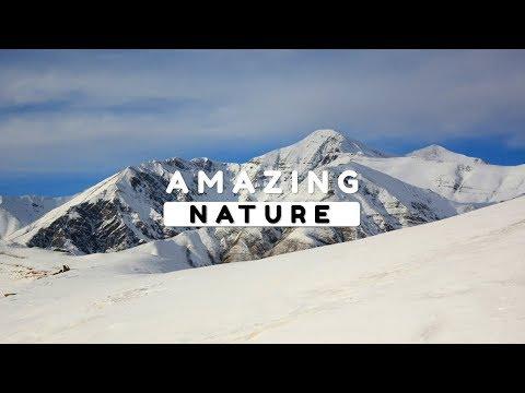 Beautiful Nature Video in Full HD - Winter Season - Gamarvan Village - Episode 2 - 11 Minute