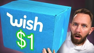 We Bought 10 Products On Wish for ONLY $1!
